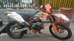 Jual Motor TrailKtm 250 excf sixdays mexico tahun 2011 pertama kali sixdays Rp.62.000.000 nego wa 0878.89.100.200