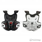 Jual Chest protector leat 2.5 Rp.1.350.000 ready stok black and white