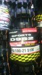 Jual Ban depan trail dunlop geomax type D952 uk 80/100 21 Rp.455,500