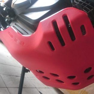 Jual Engine guard honda crf 150 l merk crosbone Rp.140.000 warna merah dan hitam