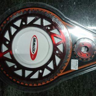 Jual Gear set honda Crf 150 L ukuran 50,51,53,54,55 merk motodry Rp.375.000 wa 0815.1332.5316