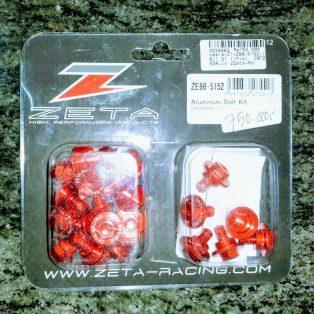 Jual Alumunium bolt kit atau baut honda crf 250 rally merk zeta Rp.750.000