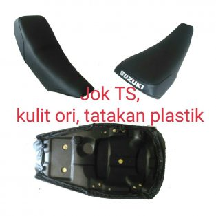 Jok suzuki ts 125 bahan plastik kulit jok original