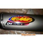 knalpot CRF 230 merk FMF slip on pnp tinggal pasang