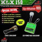 CDI power max dual band kawasaki klx 150 merk brt Rp.650,000